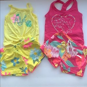 Carters short and tank set